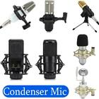 Live Streaming Condenser Microphone Karaoke Voice Recording Mic for Computer
