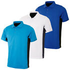 Proquip Golf Mens Technical Block Short Sleeve Tech Polo Shirt