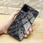 For iPhone 7,8+ SE 6 6s XR,XS,Pro MAX 9H Marble Curved FULL COVER TEMPERED GLASS