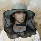 Beekeeping Beekeeper Hat Mosquito Bug Fly Bee Insect Net Head Face Protector Cap
