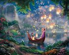 Rapunzel Fairy Tales Tale Boat Painting Paint By Numbers Kit DIY