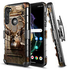 For Motorola Moto G Pro Case Armor Belt Clip Holster Phone Cover With Kickstand