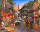 New Orleans Sunset USA Scenery Landscape Artwork Paint By Number DIY Painting