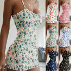 Women Bodycon Mini Dress Spaghetti Strap Sexy Party Club Wear Summer Dresses New