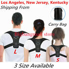 Posture Corrector men Support Back Shoulder Pro Brace Belt Adjustable women Kids