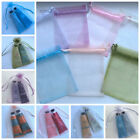 Bulk 50 Organza Pouch Bomboniere Gift Bag Wedding Party Favour Jewellery Pouch