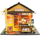Wood Dollhouse Miniature Furniture DIY Kit Doll House Toy Kids Birthday Gift
