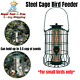Squirrel Proof Bird Feeder Hanging Cage Seed Food Outdoor Small Wild Garden Yard photo