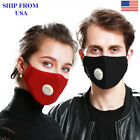 Air Purifying Washable filter Carbon Cotton Anti Haze Fog Face cover