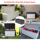 Quick Open Accessories Elastic Hem Outdoor Garden Deck Box Cover Oxford Cloth