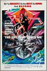 The Spy Who Loved Me - 1977 Roger Moore - James Bond Movie Poster $24.95 AUD on eBay