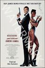 A View To A Kill - 1985 Roger Moore - James Bond Movie Poster $42.46 CAD on eBay