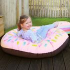 Strawberry Donut Beanbag - Use Indoor Or Outside In Garden - Personalise