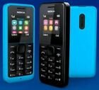 New Nokia 105 Single Sim Unlocked Gsm Mobile Phone Cheap Basic Black -blue-red
