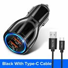 GETIHU 18W 3.1A Car Charger Quick Charge 3.0 Universal Dual USB Fast Charging