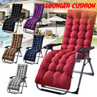 Sun Lounger Chair Pad Cushion Garden Patio Recliner Relax Rocking Chair
