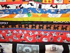 Kyпить MONOPOLY game MONEY Quilting Treasures COTTON FABRIC U-Pick READ INFO 1/2 yd  на еВаy.соm