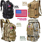 30L/35L/40L/80L Military Outdoor Tactical Shoulder Backpack Camping Hiking Bag