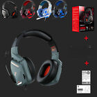 For Nintendo PC XBOX One PS4 Gaming Headset Stereo Mic Headphones/Adapter cable