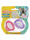 Nuby 2-Pack Cherry Shape Pacifiers