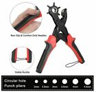 Leather Hole Punch Tool Set Belt Saddle Watch Strap Shoe Fabric Craft Projects