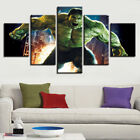 The Avenge The Hulk Poster 5Pc Canvas Digital Print Home Decor Room Picture Wall