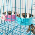 Stainless Steel Pet Feeding Fixed Bowl Food Water Feeder-Dog Cat Rabbit Bowls IT