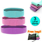 Resistance Booty Bands Fabric Heavy Strength Hip Circle Workout Exercise & Bag
