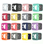 For Apple Watch Silicone TPU Case Cover iWatch Protector 38/42/40/44mm 16Colors