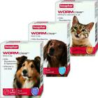 Beaphar WORMclear for Worming Tablets for Cats, Small Dogs & Large Dogs Tapeworm