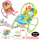 Baby Swing Infant Cradle Electric Rocker Bouncer Vibration Chair Toys Music Seat