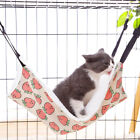 Pet Dog Cat Hammock Flannel Fur Bed Animal Hanging Ferret Cage Kitty Comforter