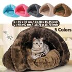 Pet Cat Dog Sleeping Bed House Kennel Puppy Cave Warm Nest Super Soft Mat Pad