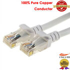 10-100ft Cat8 Cat7 Cat6 Cat5e Ethernet Network Lan HighSpeed Cable 1-10pack Lot