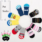 4pcs Soft Pet Knits Socks Warm Puppy Dog Shoes Cute Cartoon Anti Slip Socks New