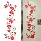 3d Flower Decal Decoration Art Home Living Room Wall Sticker Removable Mural