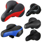Comfort Wide Big Bum Bike Bicycle Gel Cushion Extra Sporty Soft Pad Saddle Seat