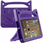 For Amazon Kindle Fire 7 / HD 8 2019 2018 Kids EVA Foam Stand Handle Case Cover