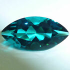 Lab Created Helenite Marquise Faceted Loose Gemstones Fine Cut AA+