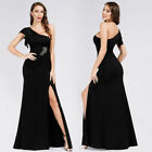 Ever-Pretty US Split Party Holiday Gown One Shoulder Formal Pageant Dress 07892