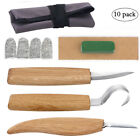 Professional Wood Carving Knives Hook Knife Set Woodcarving Tools Whittling Kits
