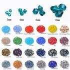 3mm 4mm 6mm 8mm Bicone Faceted Crystal Glass Loose Beads lot for Jewelry Making