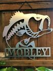 "Bass Fish - Family Name Decor - 24"" Gift"