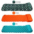 Inflatable Mat Sleeping Pad With Pillow Camping Hunting Mattress Outdoor Extreme