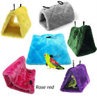 Bird Parrot Hammock Snuggle Hanging Cave Cage Plush Happy Hut Bunk Tent Bed