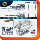 MTG Tortilla Machine - Roller  Crank   Two Different Cutters Included Your Pick