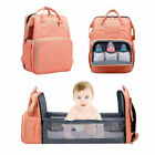 Diaper Backpack With Baby Bed Bag with ExpandableTravel Changing Bassinet Colors