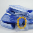 PVC Anti-oxidation Plastic Bags Clear Zip Lock Jewelry Packaging Pouch 100Pcs