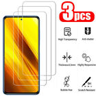 For Xiaomi Poco X3 NFC / F2 Pro 3Pcs 9H HD Tempered Glass Screen Protector Film