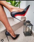 High Heels So Kate Stiletto Matt Pumps Schwarz ca.13 cm absatz Gr. 41-42-43-44